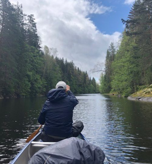 kano in mooie voorgrond